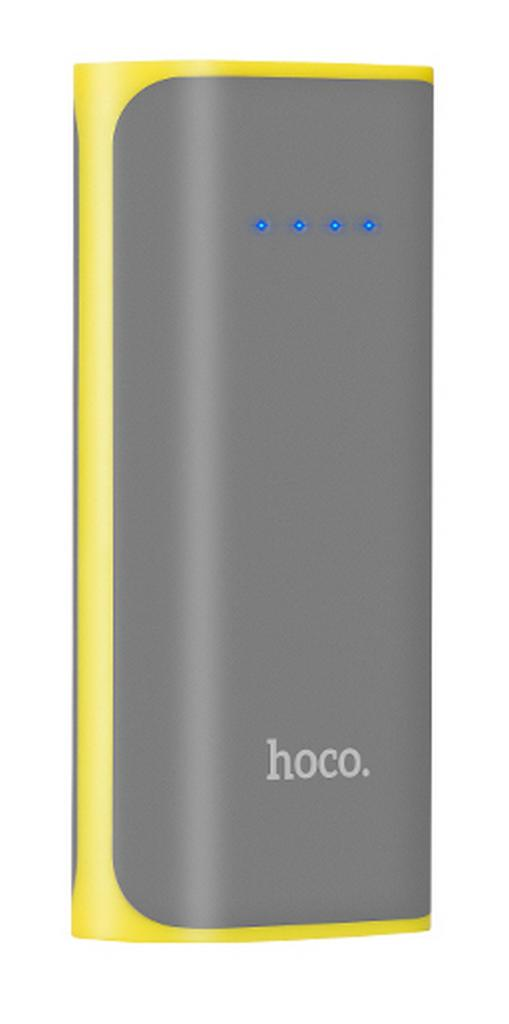 Power Bank Hoco B21 Xiao Nai 5200 mAh με Micro-USB και Φακό Γκρι