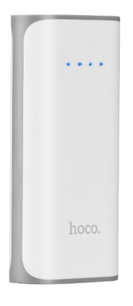 Power Bank Hoco B21 Xiao Nai 5200 mAh με Micro-USB και Φακό Λευκό
