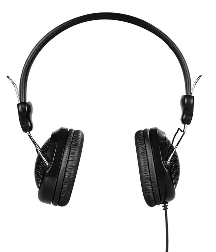 Ακουστικά Stereo Hoco W5 Μαύρα με υποδοχή 3.5mm και ενσωματωμένο μικρόφωνο