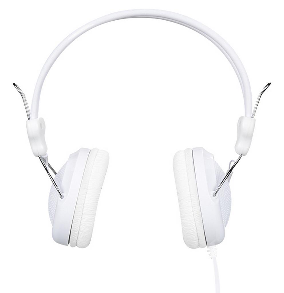 Ακουστικά Stereo Hoco W5 Λευκά με υποδοχή 3.5mm και ενσωματωμένο μικρόφωνο