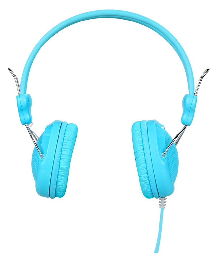 Ακουστικά Stereo Hoco W5 Μπλε με υποδοχή 3.5mm και ενσωματωμένο μικρόφωνο