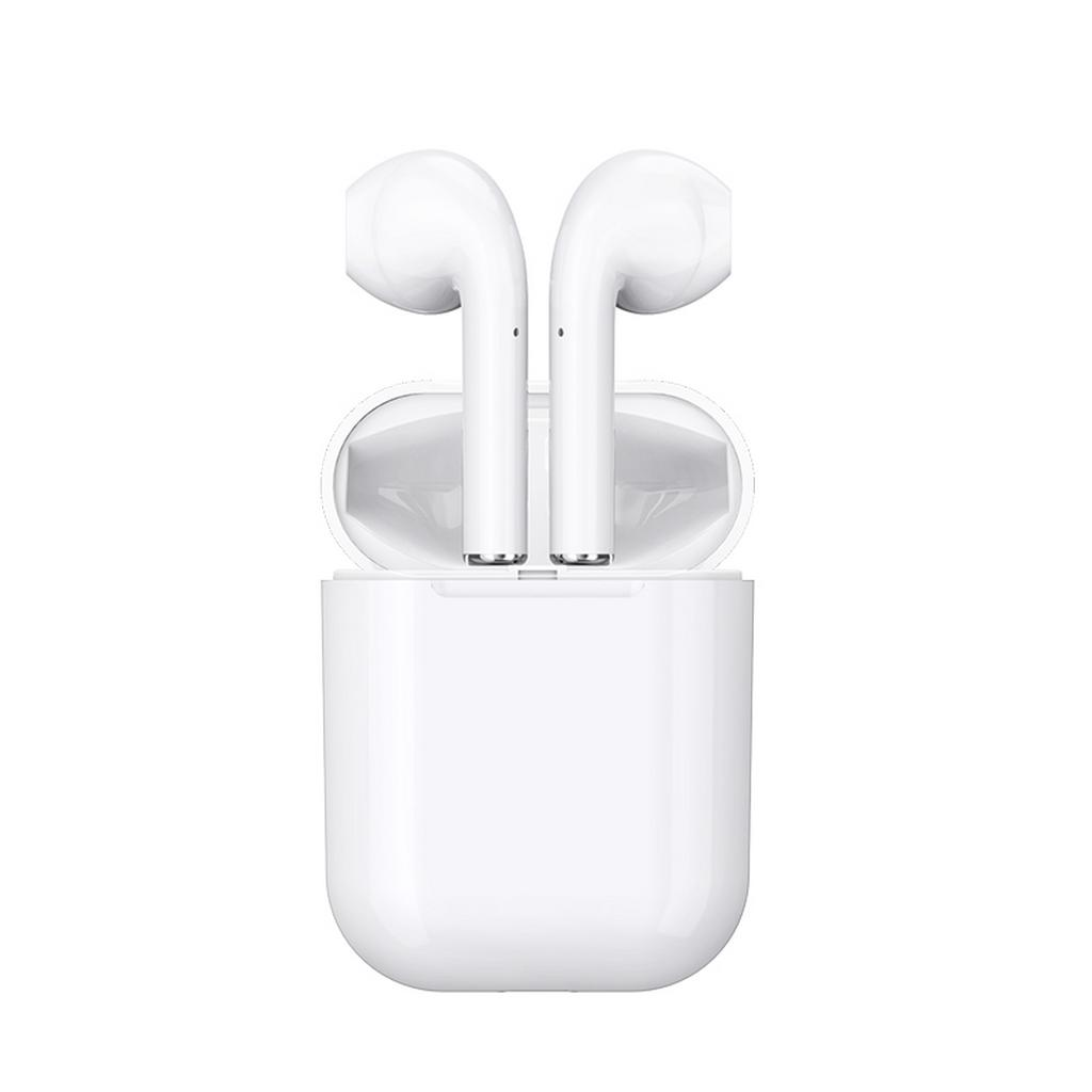 True Wireless Bluetooth Hoco ES20 DC 5V για Apple v.5.0 Λευκό