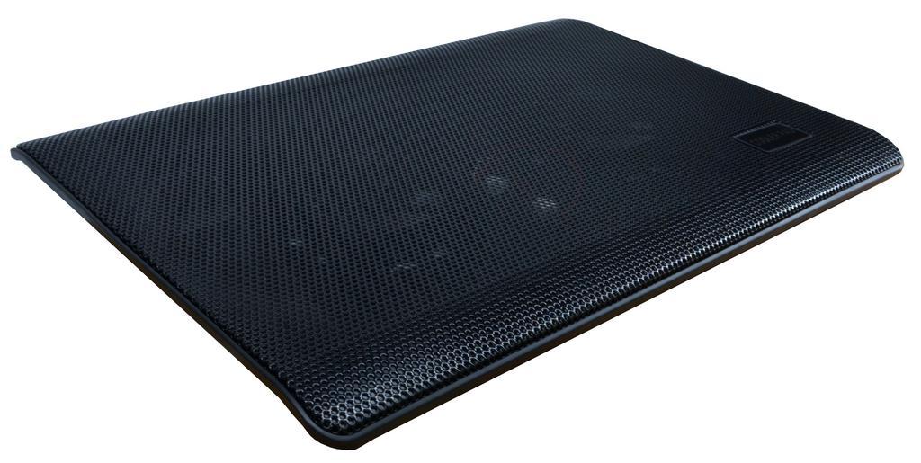 """Laptop Cooler Mobilis Cooler Pad L112 Μαύρο για Φορητούς Υπολογιστές έως 15.4"""""""