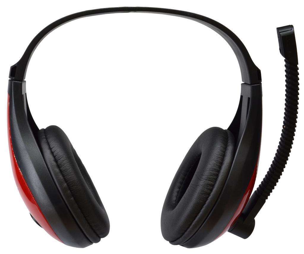 Ακουστικά Stereo KOMC USB Headphones B19 Μαύρα