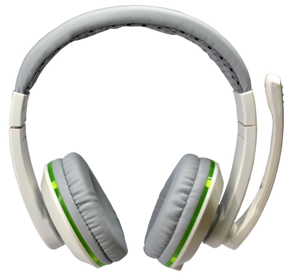 Ακουστικά Stereo KOMC LED G11 Λευκά