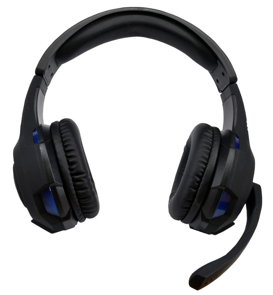 Ακουστικά Stereo KOMC USB Headphones G301 Μαύρα