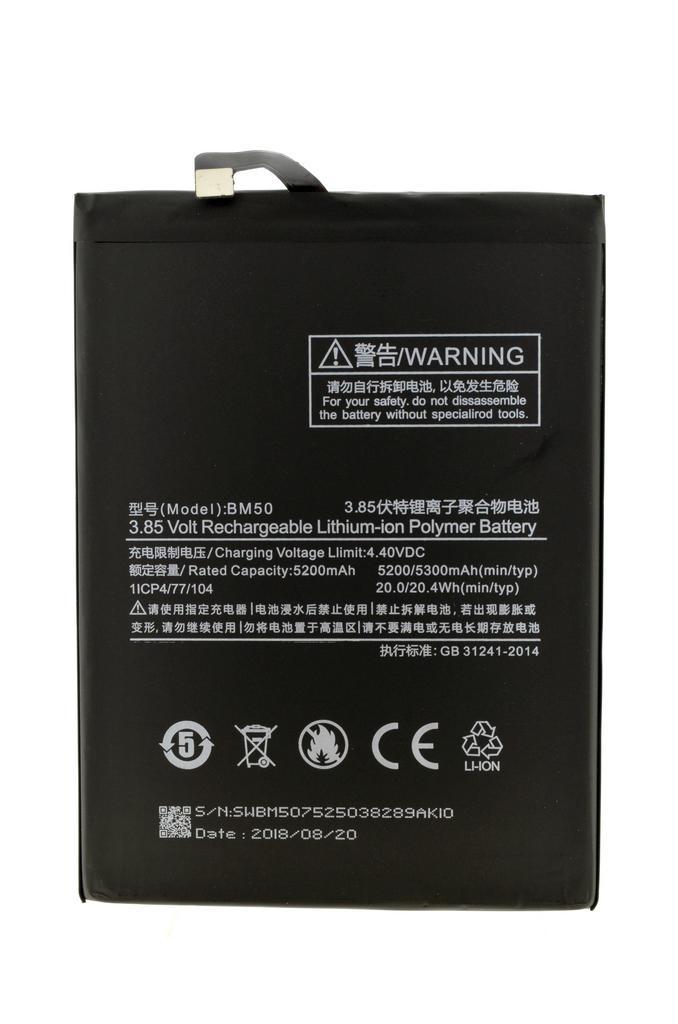 Μπαταρία Ancus για Xiaomi BM50 για Mi Max 2 Li-ion 5200mAh 3.8V Bulk