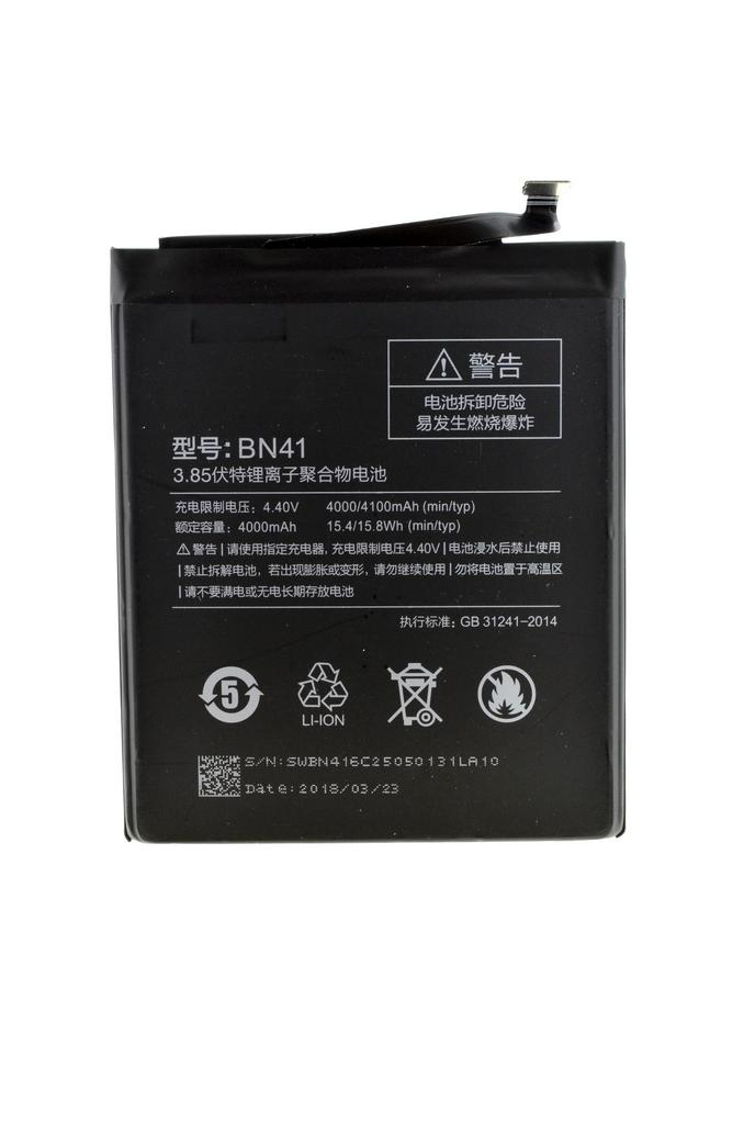 Μπαταρία Ancus για Xiaomi BN41 για Redmi Note 4 Li-ion 4000mAh 3.8V Bulk
