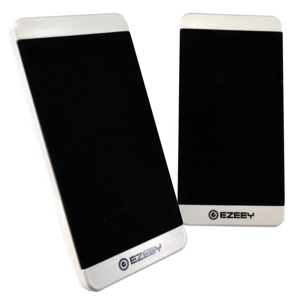 Ηχείο Stereo Multimedia Ezeey S5 με σύνδεση 3.5mm και USB φόρτιση, 2.5W x 2, 4Ω 3W, Λευκό