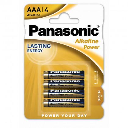 Μπαταρία Αλκαλική Panasonic Alcaline Power LR03APB/1BP size AAA 1.5V Τεμ, 4