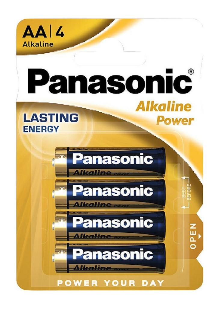 Μπαταρία Αλκαλική Panasonic Alcaline Power LR6APB/4BP size AA 1.5 V Τεμ. 4