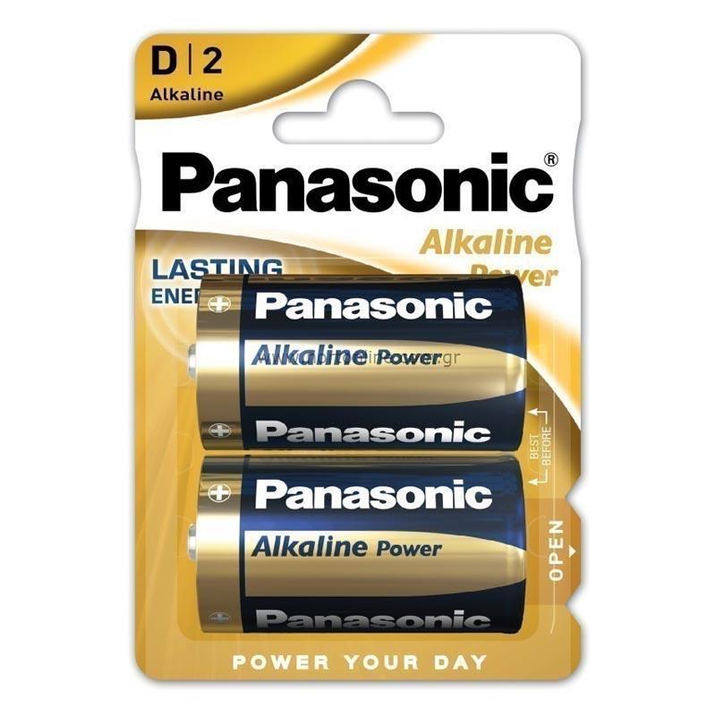 Μπαταρία Αλκαλική Panasonic Alcaline Power LR20APB/2BP size D Τεμ. 2