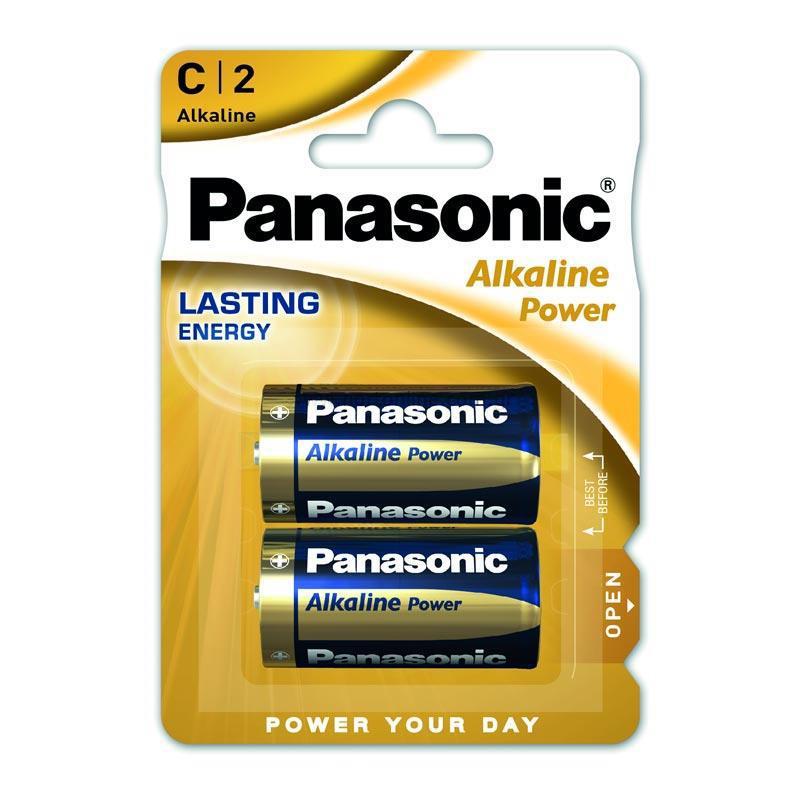 Μπαταρία Αλκαλική Panasonic Alcaline Power LR14APB/2BP size C Τεμ. 2
