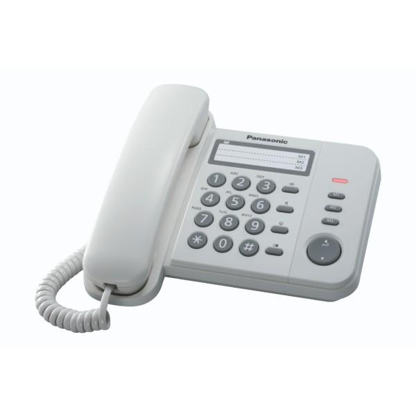 Σταθερό Ψηφιακό Τηλέφωνο Panasonic KX-TS520EX1W Λευκό