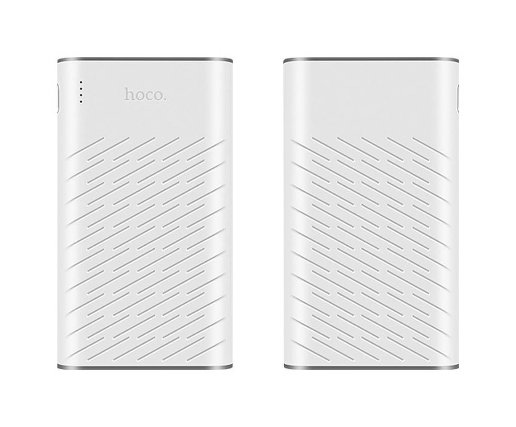 Power Bank Hoco B31 Rege 20000 mAh με 2 Θύρες USB και LED Ένδειξη Λευκό