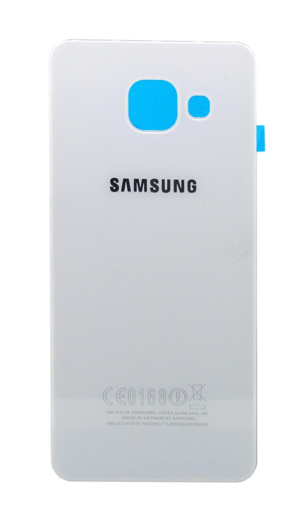 Καπάκι Μπαταρίας Samsung SM-A310F Galaxy A3 (2016) Λευκό OEM Type A