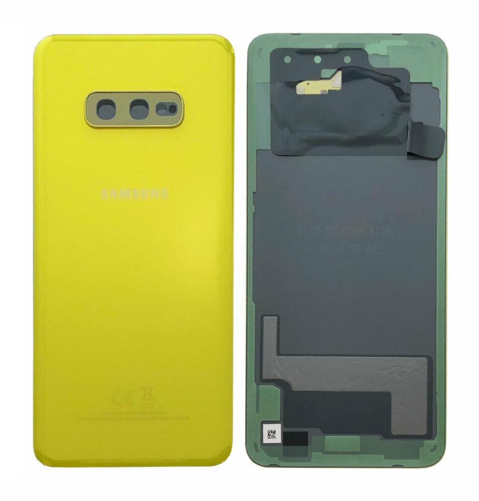 Καπάκι Μπαταρίας Samsung SM-G970F Galaxy S10e Κίτρινο Original GH82-18452G