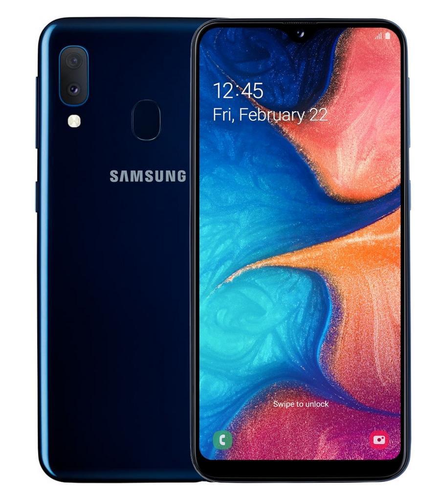 Samsung SM-A202F/DS Galaxy A20e Dual Sim 5.8'' 4G 3GB/32GB Μπλε