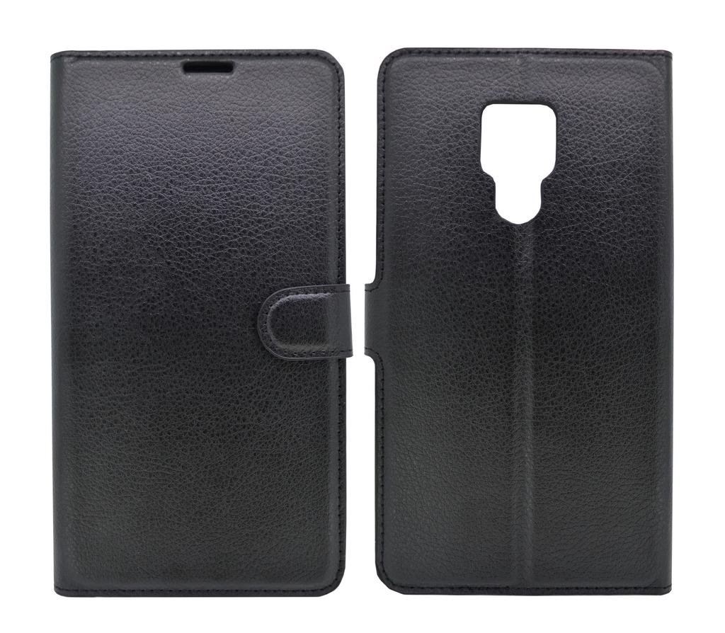 Θήκη Book Ancus Teneo για Huawei Mate 20 X TPU Μαύρη