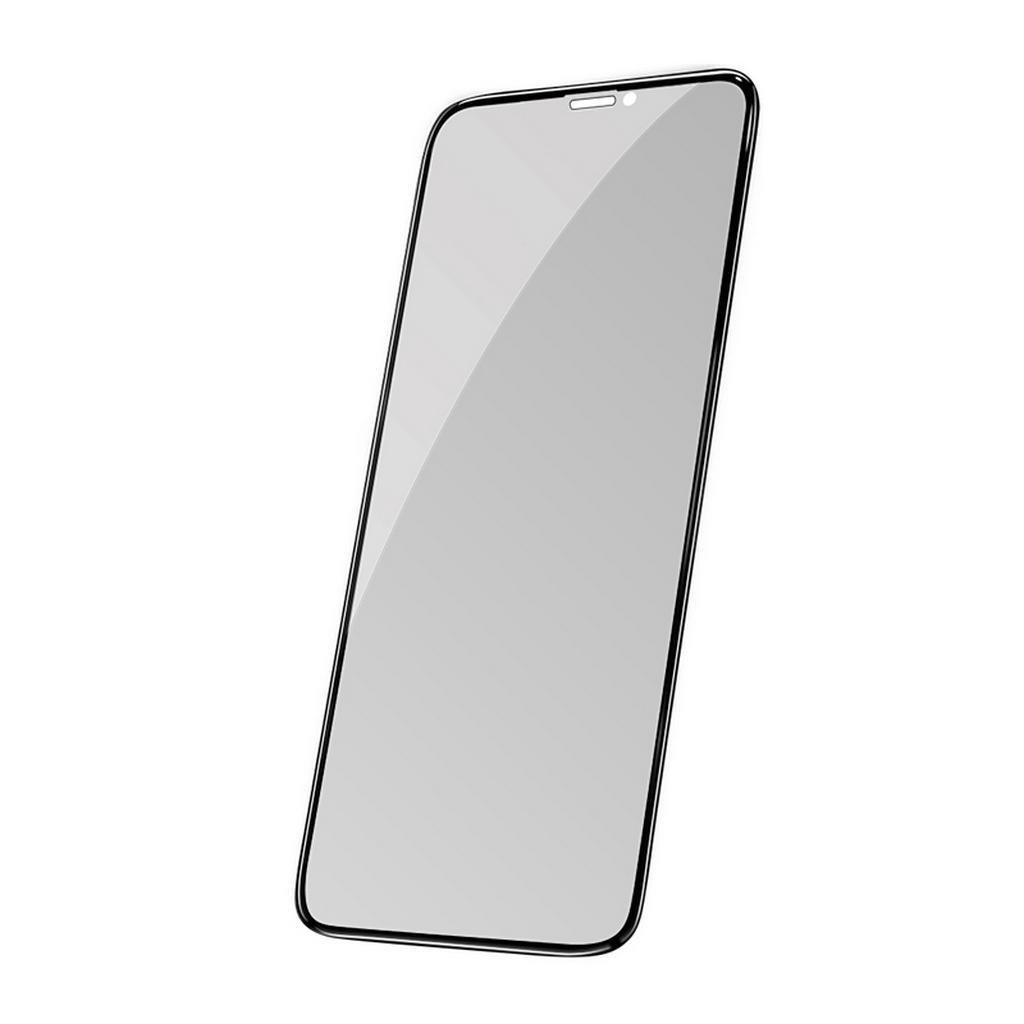 Tempered Glass Hoco Shatterproof Edges Full Screen Anti-Spy HD 9H για Apple iPhone X/XS Μαύρο