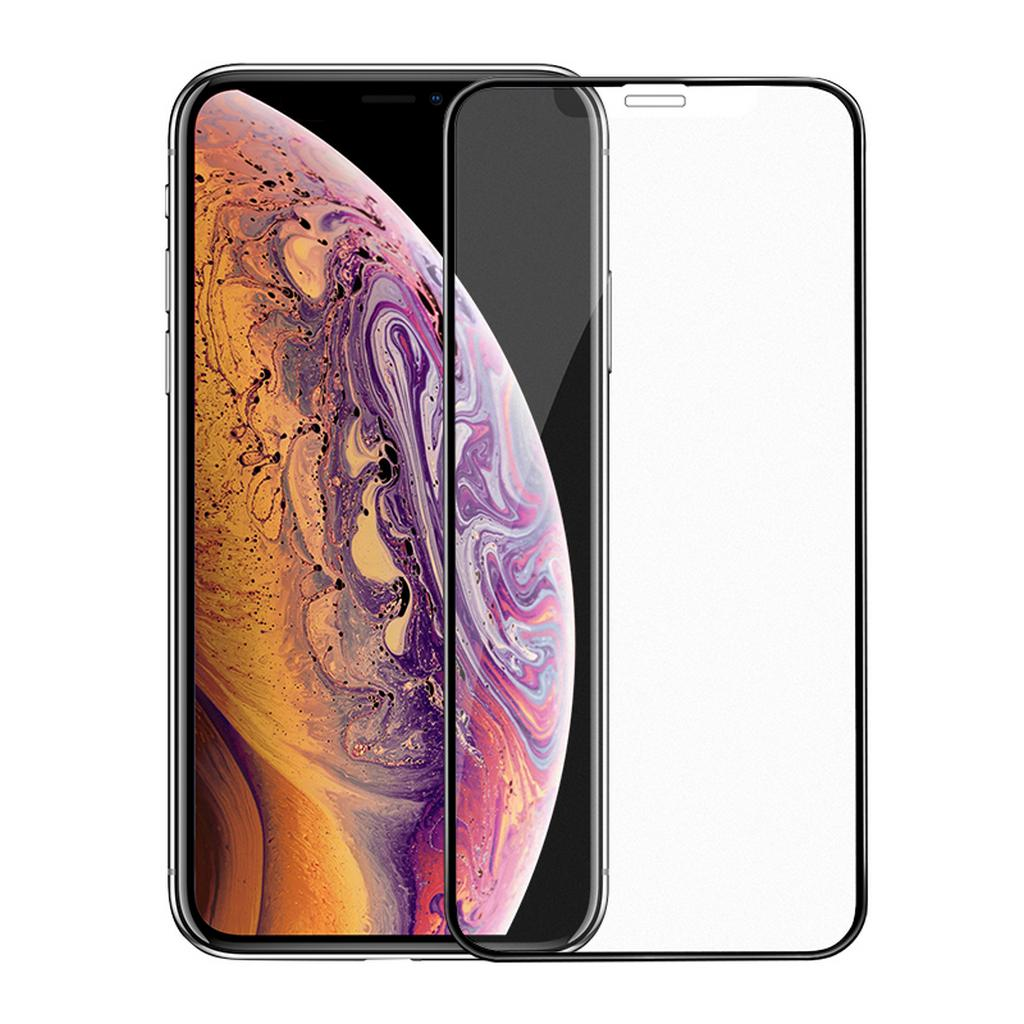 Tempered Glass Hoco 0.33mm Super Smooth 3D Full Screen Frosted HD για Apple iPhone XS Max Μαύρο