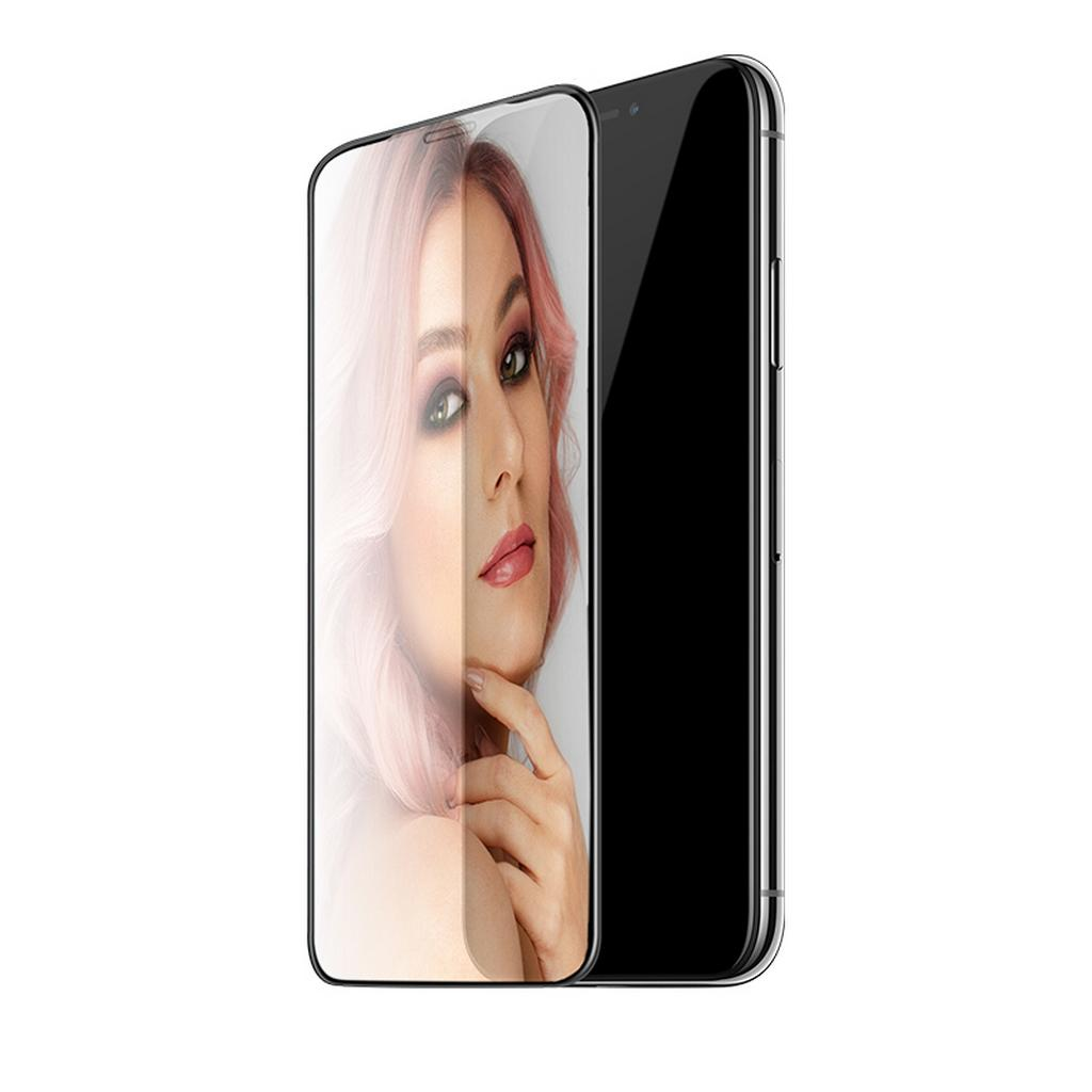 Tempered Glass Hoco MIrror 3D Full Screen Protection για Apple iPhone X/XS Μαύρο