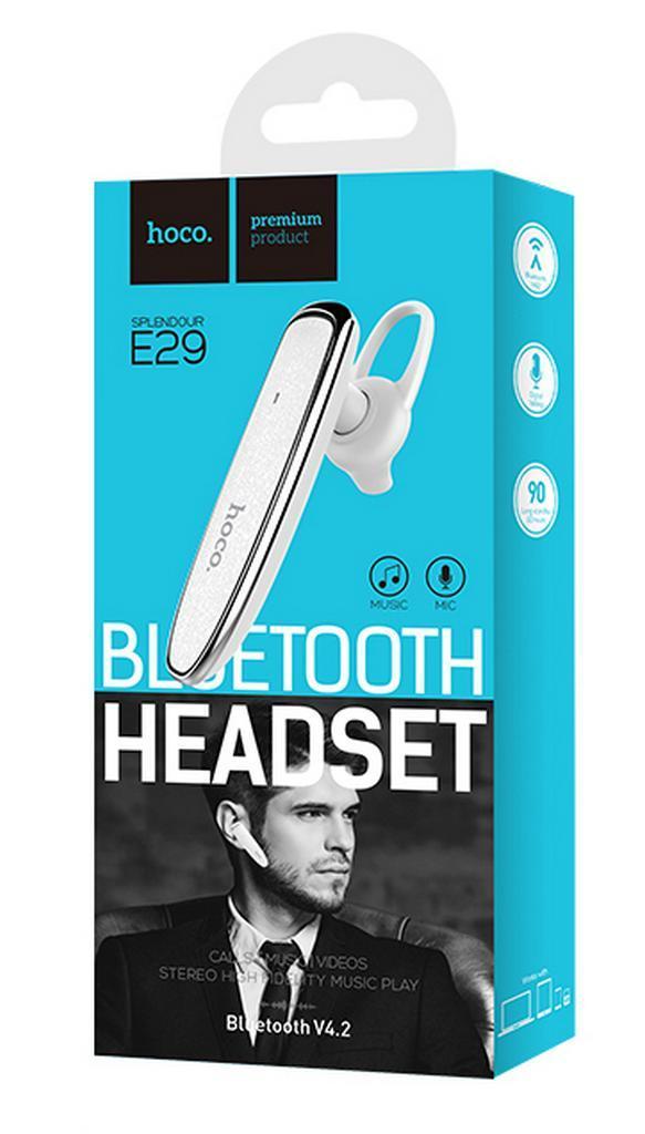 Bluetooth Stereo Headset Hoco E29 Λευκό