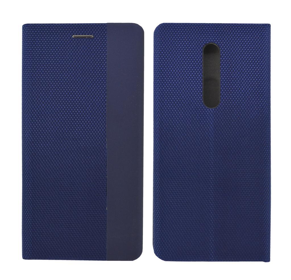 Θήκη Book Ancus Magnetic Canvas για Xiaomi Mi 9T Pro / Redmi K20 Pro TPU Μαύρη-Μπλε