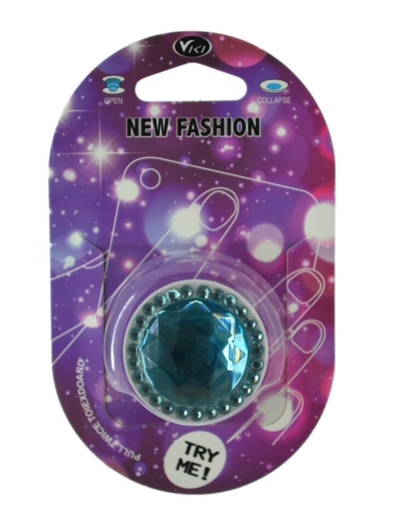 Pop Βάση Κινητού Strass Diamond Γαλάζιο