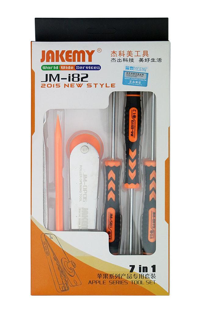 Εργαλείο Ανοίγματος Συσκευών Jakemy JM-182 Σετ 7 Τεμαχίων για συσκευές Apple