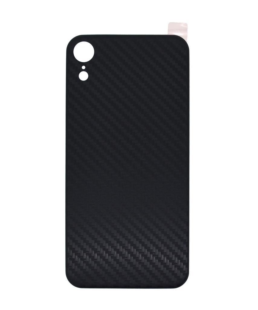 Κάλυμμα για Καπάκι Μπαταρίας Carbon Fiber για Apple iPhone XR Μαύρη