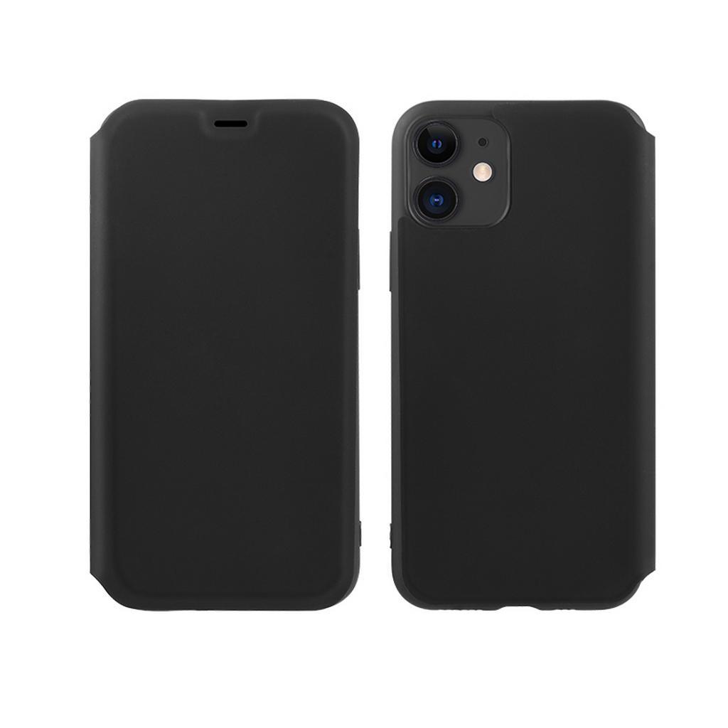 Θήκη Hoco Colorful Series Liquid Silicone για Apple iPhone 11 Μαύρη