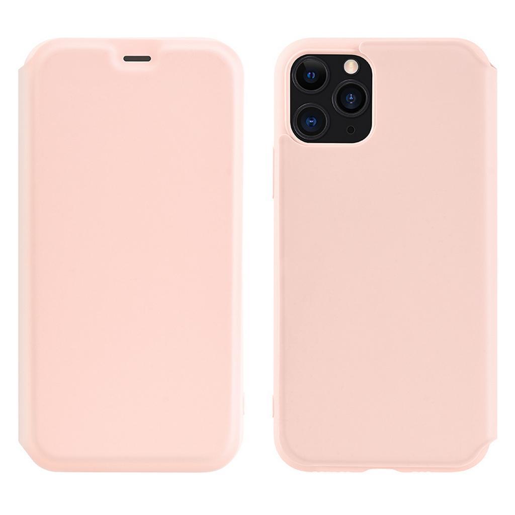 Θήκη Hoco Colorful Series Liquid Silicon για Apple iPhone 11 Pro Max Ροζ
