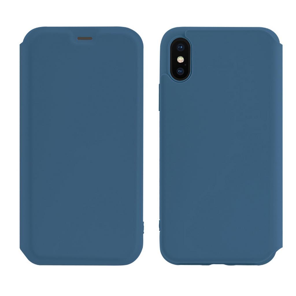 Θήκη Hoco Colorful Series Liquid Silicone για Apple iPhone X / XS Μπλε