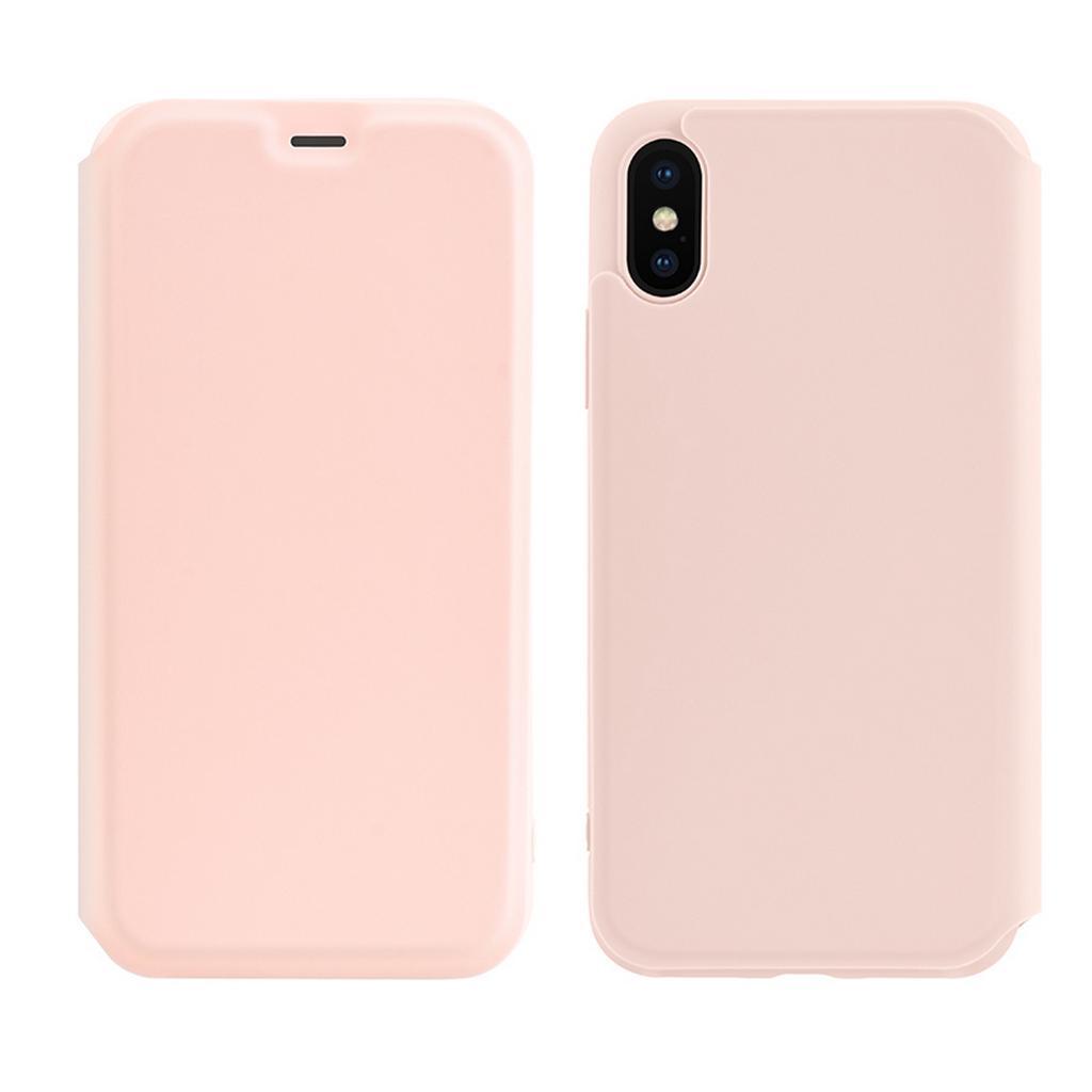 Θήκη Hoco Colorful Series Liquid Silicone για Apple iPhone X / XS Ροζ