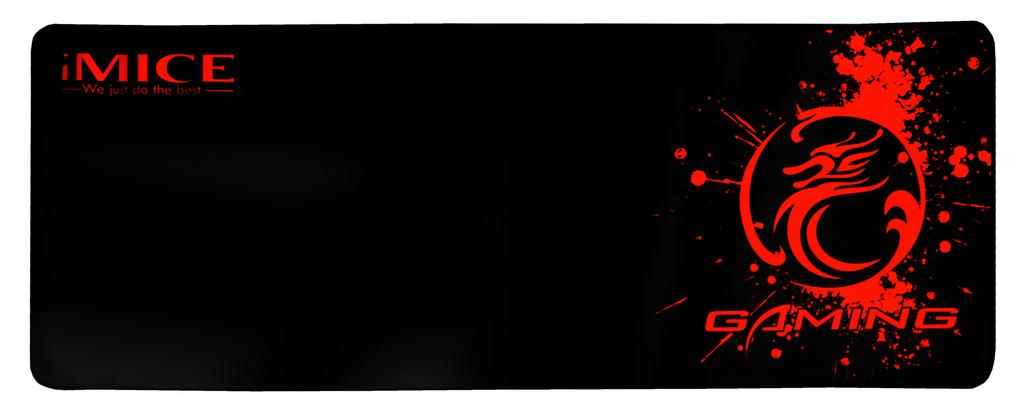Gaming Mousepad iMICE Roll Red Dragon Αντιολισθητικό 770x295mm Μαύρο