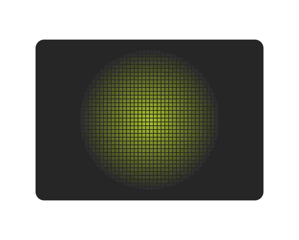 Gaming Mousepad iMICE Green Snake Αντιολισθητικό 300x250mm Μαύρο