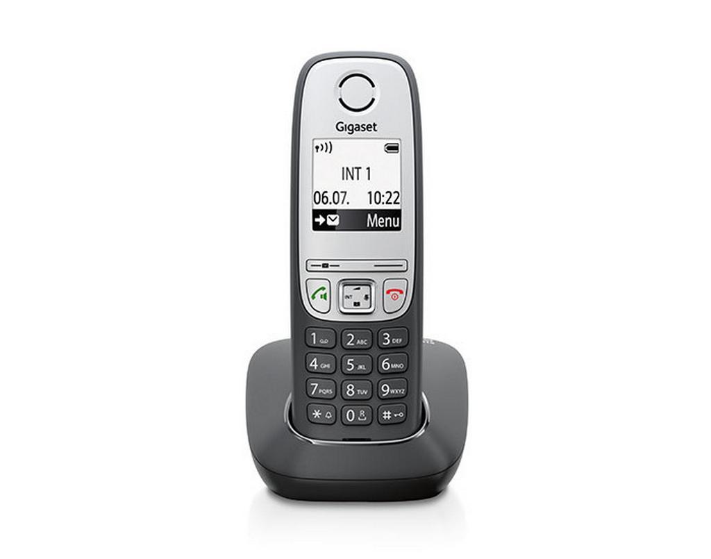 Ασύρματο Ψηφιακό Τηλέφωνο Gigaset A415 Μαύρο