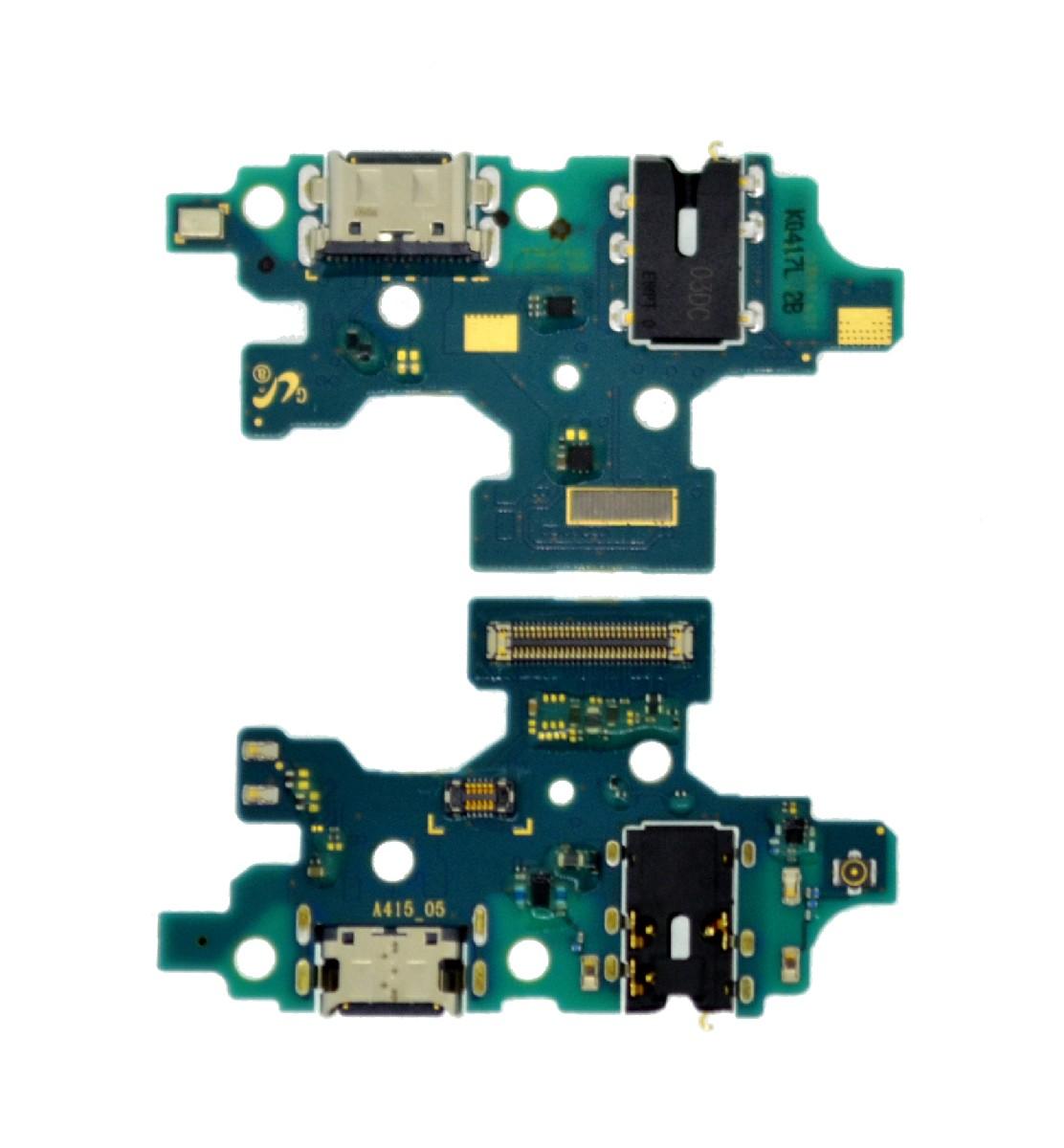 Επαφή Φόρτισης Samsung SM-A415F Galaxy A41 με Μικρόφωνο GH96-13379A Original