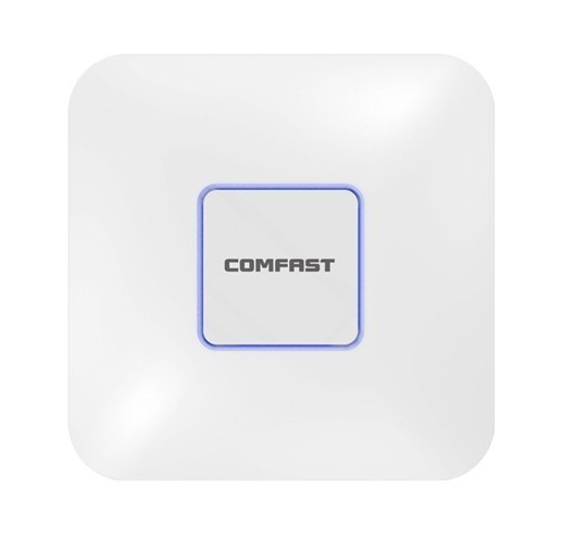 Access Point Comfast CF-E355AC V2 1200Mbps 11AC Dual Band WiFi Ceiling Λευκό με Ενδείξεις LED και Κάλυψη 120 Χρηστών