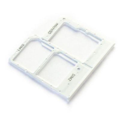 Βάση Κάρτας Sim Samsung SM-A207F/DS Galaxy A20 Λευκό Original GH98-44377B