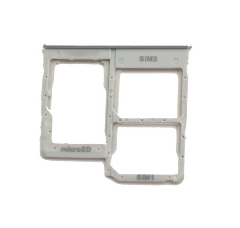 Βάση Κάρτας Sim Samsung SM-A405FN Galaxy A40 Λευκό Original GH98-44303B