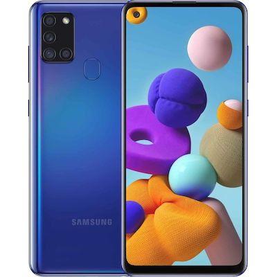 Samsung SM-A217F Galaxy A21s Dual Sim 6.5'' 4G 4GB/64GB Μπλέ