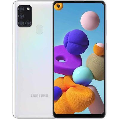 Samsung SM-A217F Galaxy A21s Dual Sim 6.5'' 4G 4GB/64GB Λευκό