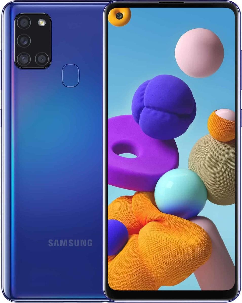 Samsung SM-A217F Galaxy A21s Dual Sim 6.5'' 4G 3GB/32GB NFC Μπλέ