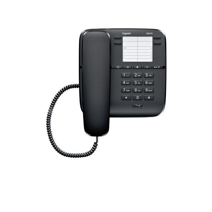 Σταθερό Ψηφιακό Τηλέφωνο Gigaset DA310 Μαύρο