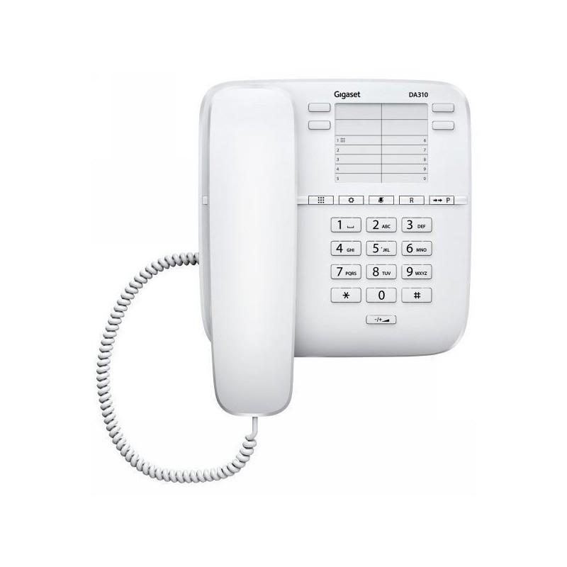 Σταθερό Ψηφιακό Τηλέφωνο Gigaset DA310 Λευκό