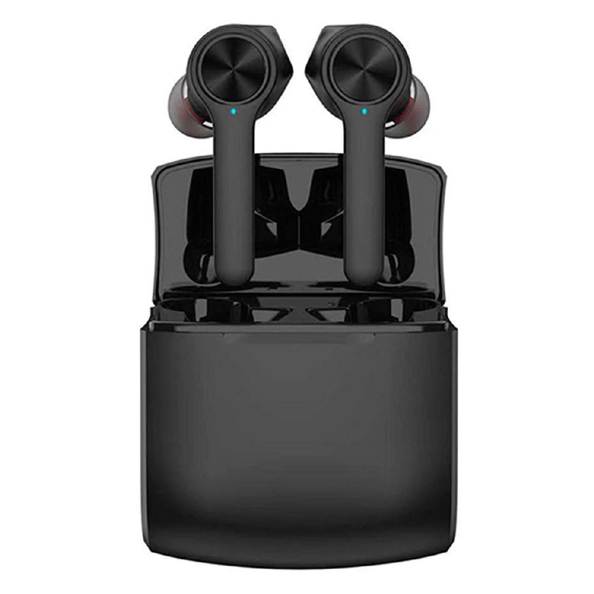 True Wireless Bluetooth Lenovo HT20 V.5.0 IPX5 Μαύρα με Πλήκτρο Αφής και Μεγάλη Αυτονομία