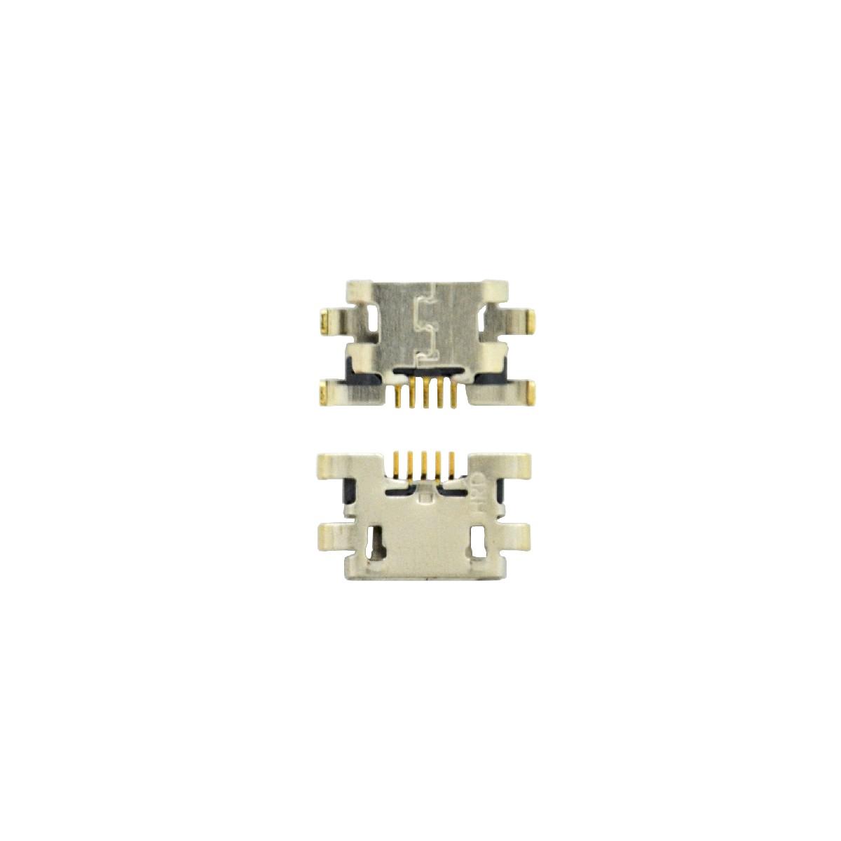 Επαφή Φόρτισης Universal Micro Usb 5-pin για Tablet, Κινητά (1cm x 0.5cm)
