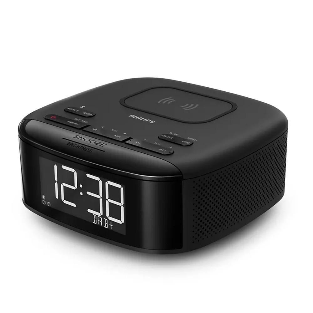 Ραδιορολόι Philips TAR7705/10 DAB+  με Ασύρματη Φόρτιση, Bluetooth και Εξτρα Υποδοχή Φόρτισης USB